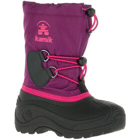 Kamik Southpole 4 Winter Boots Kinder grape-raisin